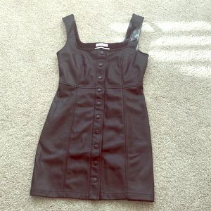 Urban Outfitters leather dress